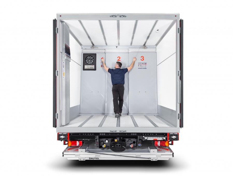 Trennwandsysteme | Kühlfahrzeuge und Kühlaufbauten von Kiesling